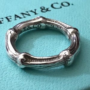 Tiffany & Co. Bamboo Ring Rare size 4.25